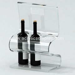 acrylic bottle display bottle holder