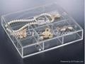 acrylic jewelry chest jewellery organizer