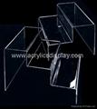 acryl acrylic shoes display stand