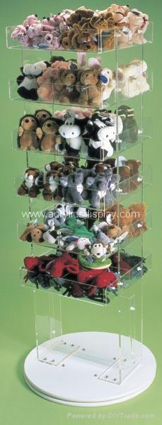 perspex POP displays