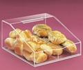 plastic lucite acrylic bread bin