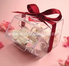 acrylic candy dispenser