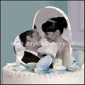 wedding cake topper wedding blocks