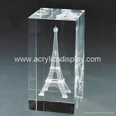 3D laser crystal gift