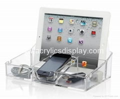 acrylic clicker display holder stand