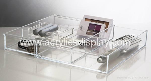 acrylic clicker display caddy