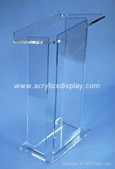 acrylic podium acrylic lectern acrylic pulpit