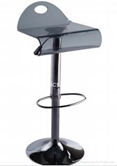 Acrylic bar stools kitchen room
