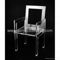 acrylic chair lounge chair