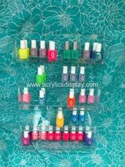 acrylic wall nail polish dispenser
