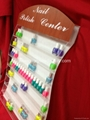 acrylic perspex nail polish wall racks