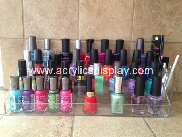 acrylic nail polish lipstick organizer