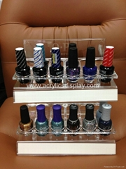 acrylic perspex nail polish display holder