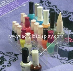 acrylic countertop nail polish rack