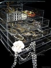 Jewelry Acrylic Organizer Acrylic Box