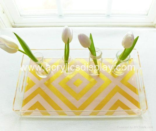 Lucite Serving Tray Acrylic Tray