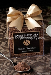 acrylic chocolate box candy box