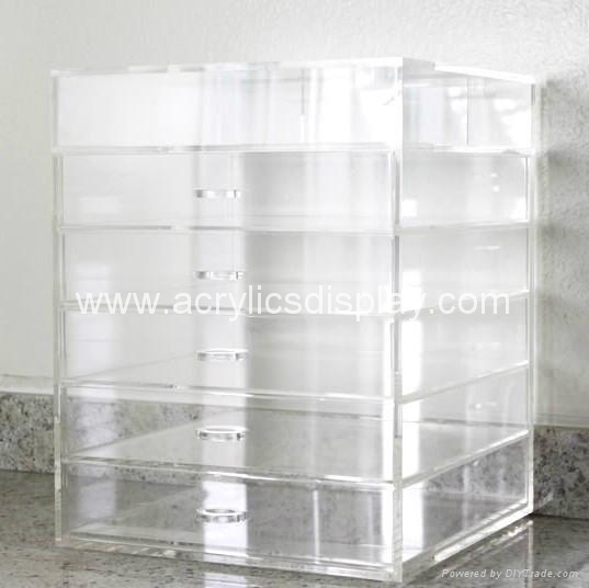 Acrylic Makeup Case Box