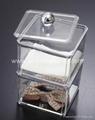 crystal organizer case lucite organizer