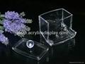 acrylic cotton ball holder