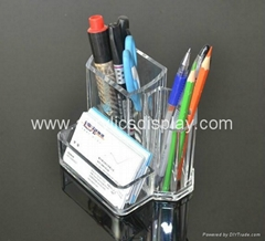 acrylic name card holder display stand