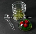 acrylic spice rack plastic container