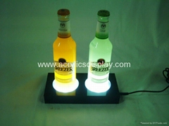 Acrylic LED wine glorifier