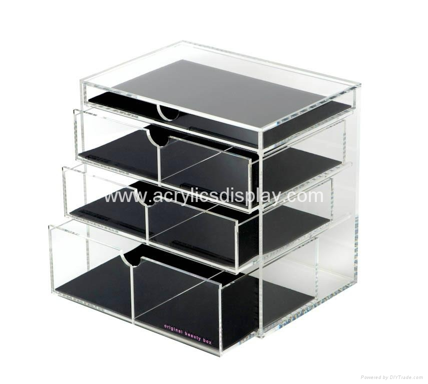 Lucite Acrylic Cosmetic Display Cabinet ACDS 03 TW