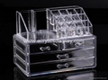 acrylic make up organizer make up case