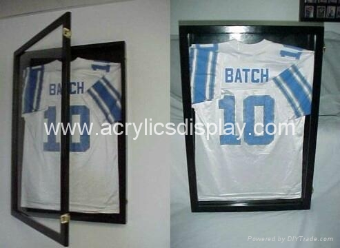 Wall Mounted Clear Acrylic Jersey Display Case China