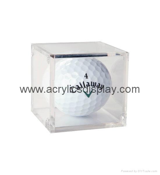 acrylic golf ball display case