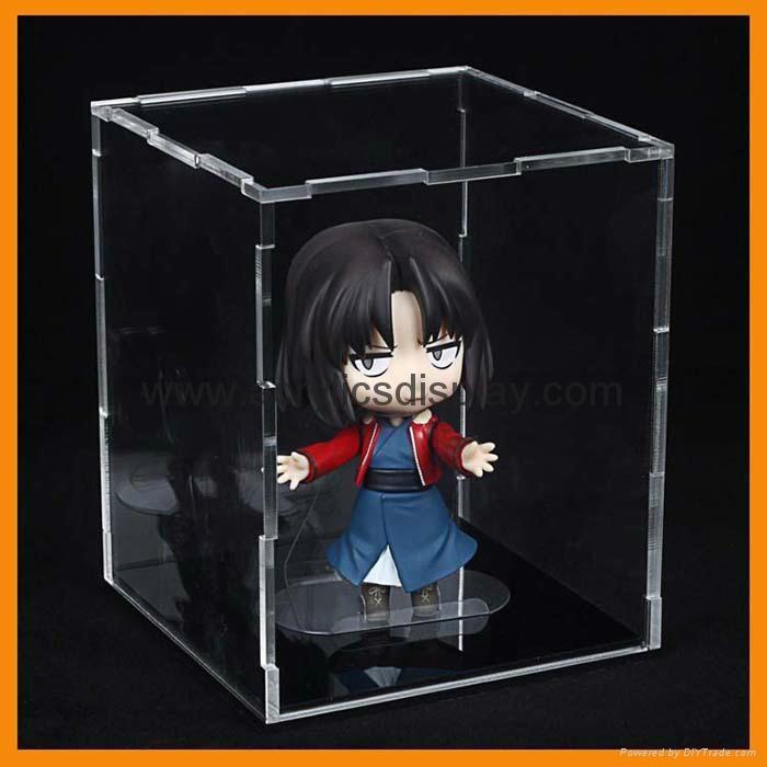 acrylic doll box