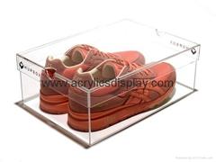 acrylic perspex shoes di
