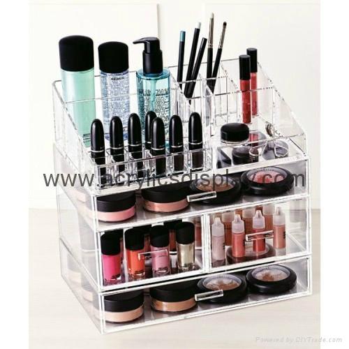 popular acrylic cosmetic organizer