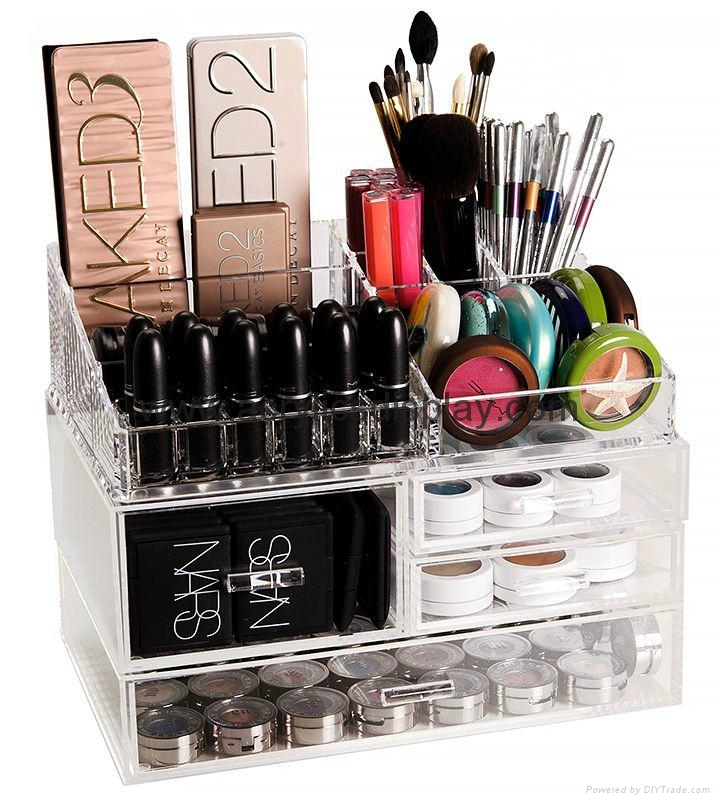 hot  seller acrylic cosmetic organizer