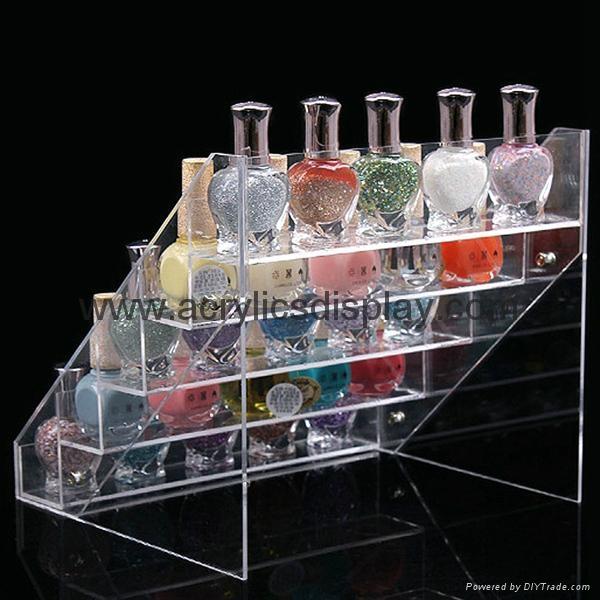 perspex acrylic nail polish stand