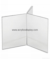 perspex card stand