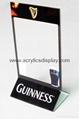 acrylic menu holder