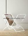 acrylic magazine rack magazine holder