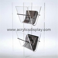 acrylic newspaper display dispenser