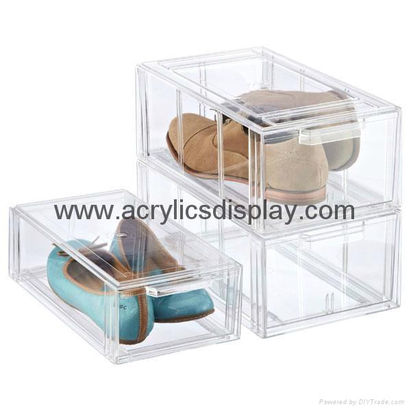 acrylic shoes display box