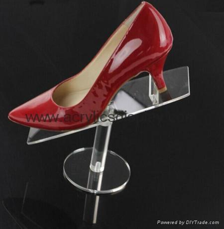 acrylic riser stand display