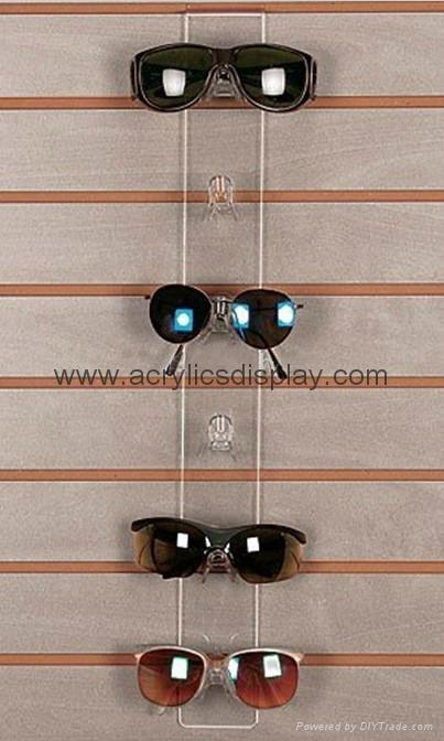 Acrylic eyeglasses stand