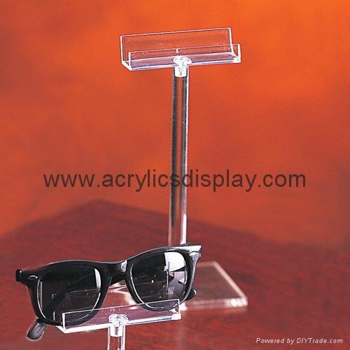 perspex eyeglasses display stand