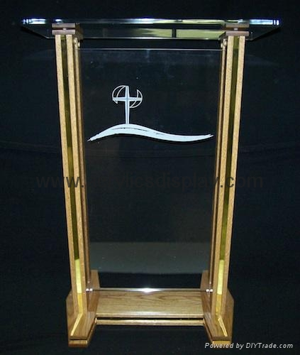 acrylic church pulpit lucite lectern