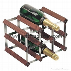 Hexagon Perspex Wine Rack