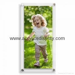 perspex picture frame magnetics frame