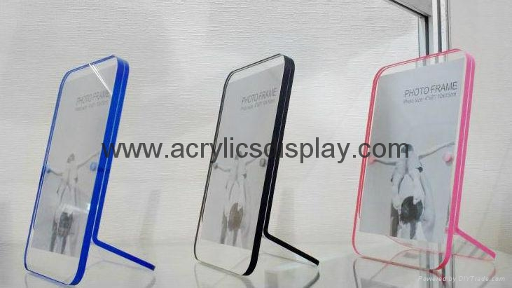 acrylic poster display holder