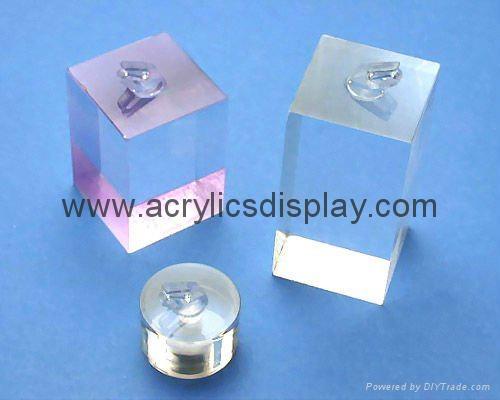 Acrylic earring stand display