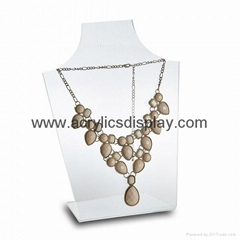 acrylic necklace display stand